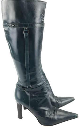 Preload https://item1.tradesy.com/images/charles-david-forest-green-pointed-toe-leather-bootsbooties-size-eu-375-approx-us-75-regular-m-b-22470635-0-3.jpg?width=440&height=440