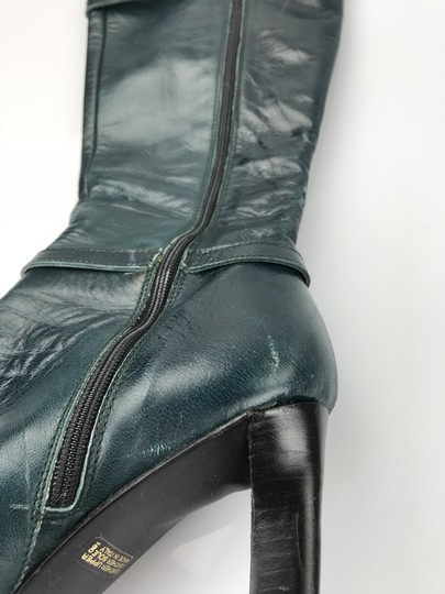 Charles David Forest Green Boots