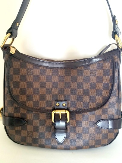 Louis Vuitton Damier Ebene Saumur Messenger Checkerboard Shoulder Bag