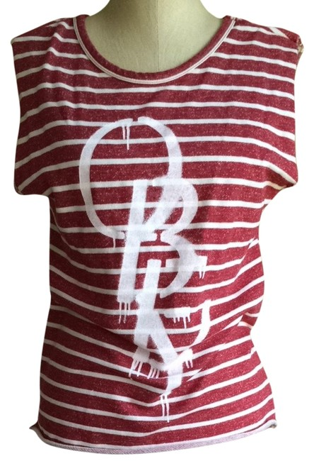 Item - Red Muscle T Tank Top/Cami Size 4 (S)