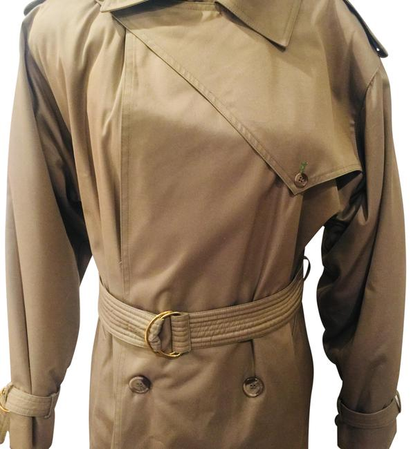 Preload https://img-static.tradesy.com/item/22470733/dior-taupe-khaki-double-breasted-long-lined-coat-size-8-m-0-1-650-650.jpg