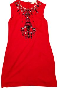 Yumi Christmas Holiday Sparkle Beaded Festive Dress
