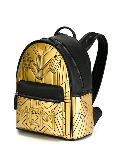 Preload https://item5.tradesy.com/images/mcm-bionic-emblem-series-new-with-tags-black-leather-backpack-22470894-0-0.jpg?width=440&height=440