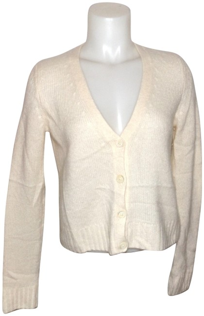 Preload https://img-static.tradesy.com/item/22471234/talbots-cream-button-front-sweater-cardigan-size-2-xs-0-1-650-650.jpg