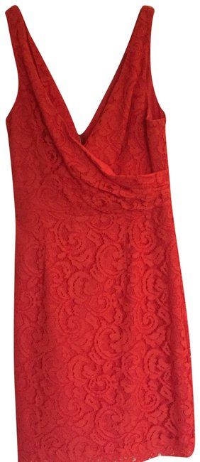 Preload https://img-static.tradesy.com/item/22471324/jcrew-red-leavers-lace-crossover-front-short-casual-dress-size-2-xs-0-1-650-650.jpg