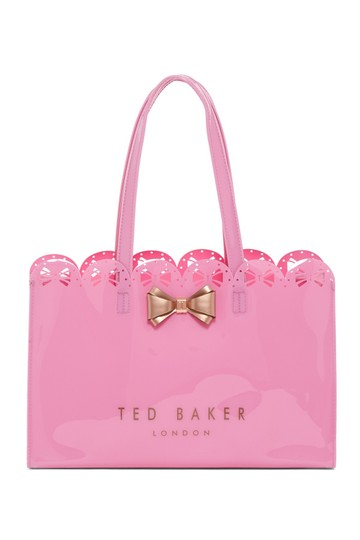Preload https://item3.tradesy.com/images/ted-baker-london-alexcon-bow-icon-pvc-tote-22471392-0-0.jpg?width=440&height=440