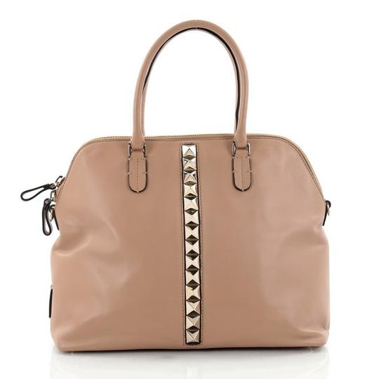Preload https://img-static.tradesy.com/item/22471434/valentino-va-va-voom-bowling-medium-brown-leather-satchel-0-0-540-540.jpg