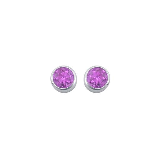 Preload https://item3.tradesy.com/images/purple-silver-amethyst-bezel-set-stud-925-sterling-200-ct-tgw-earrings-22471567-0-0.jpg?width=440&height=440