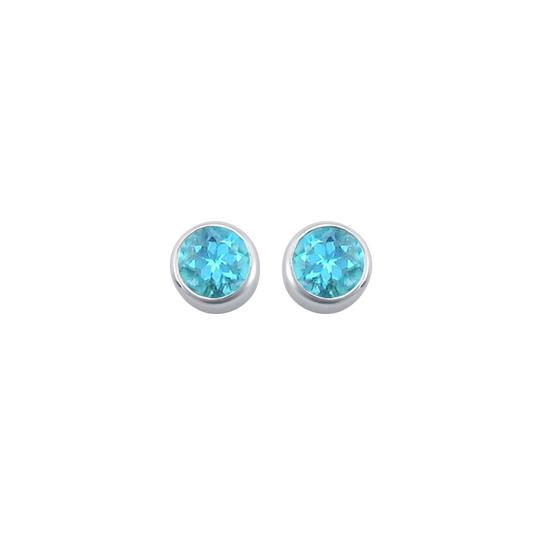 Preload https://item4.tradesy.com/images/blue-silver-topaz-bezel-set-stud-925-sterling-200-ct-tgw-earrings-22471583-0-0.jpg?width=440&height=440