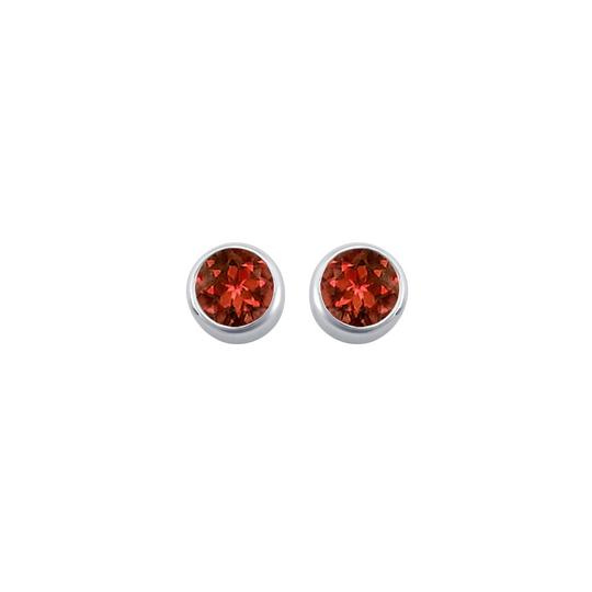 Preload https://item5.tradesy.com/images/red-silver-garnet-bezel-set-stud-925-sterling-200-ct-tgw-earrings-22471644-0-0.jpg?width=440&height=440