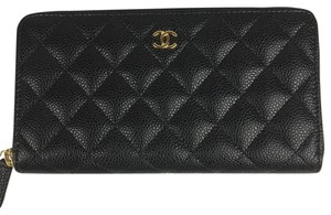 Chanel Chanel Timeless Classic Zip Around Long Wallet
