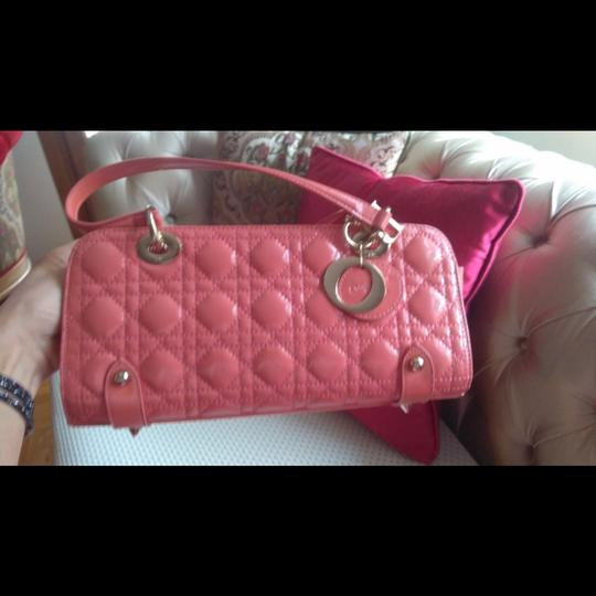 Dior Patent Leather Hobo Bag