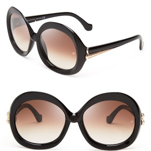 Balenciaga oversized sunglasses