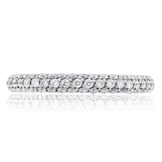 De Beers De Beers 18k White Gold 1.10ctw Diamond Eternity Band