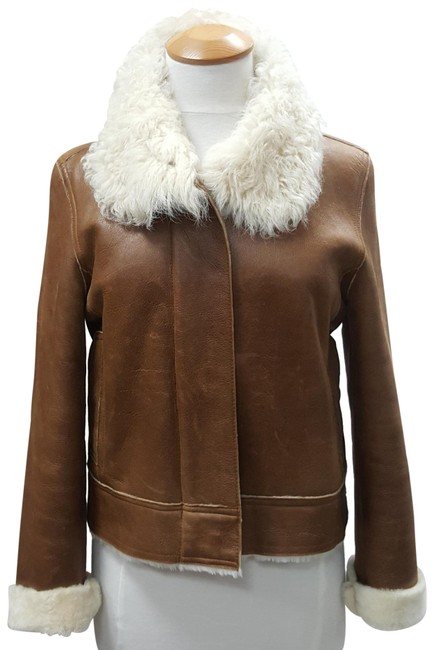 Preload https://item2.tradesy.com/images/burberry-london-brown-cognac-shearling-leather-aviator-jacket-size-8-m-22471861-0-1.jpg?width=400&height=650
