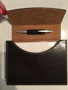 Brown New: Stationery Set In Tone Magnetic Closure Stationery Other