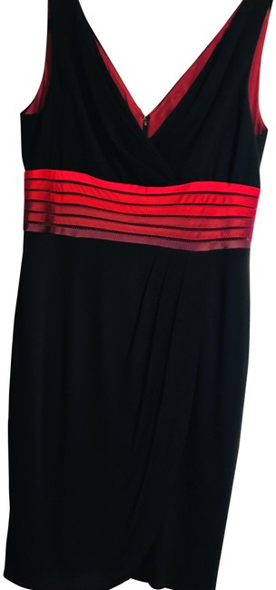 Preload https://img-static.tradesy.com/item/22471941/kay-unger-black-red-mid-length-cocktail-dress-size-14-l-0-1-650-650.jpg