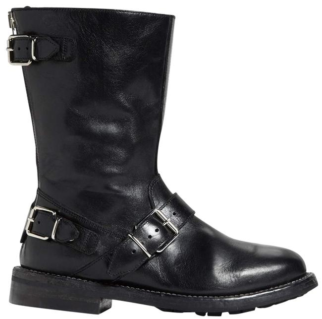Burberry Black Limited Edition Atholl Triple Buckle Moto (W28) Boots/Booties Size EU 35.5 (Approx. US 5.5) Regular (M, B) Burberry Black Limited Edition Atholl Triple Buckle Moto (W28) Boots/Booties Size EU 35.5 (Approx. US 5.5) Regular (M, B) Image 1