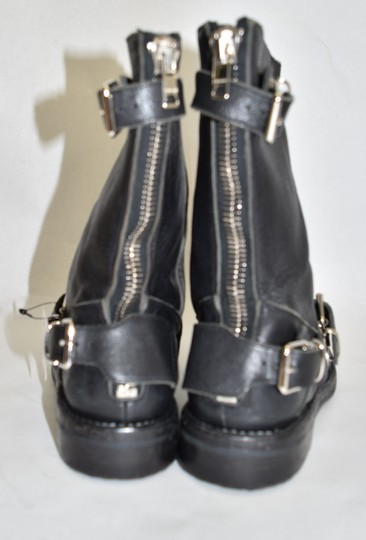 Burberry Ankle Moto Winter BLACK Boots