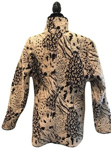 Unknown Leopard Alpaca Hair Jacket