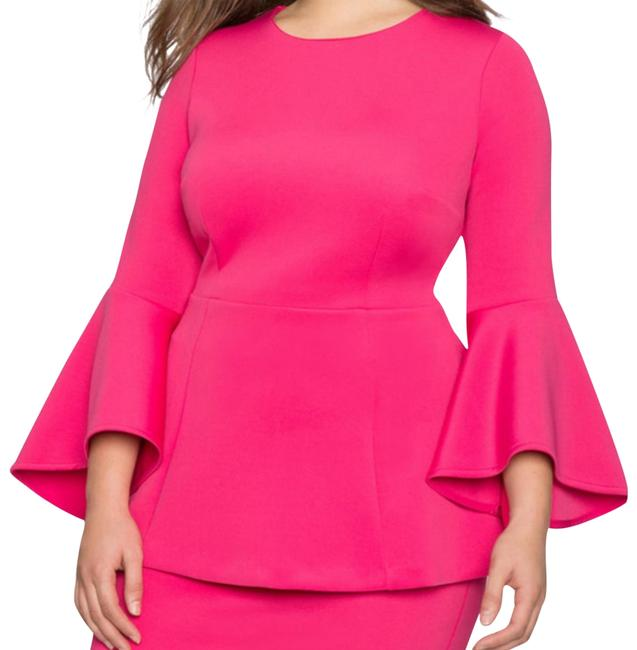 Preload https://img-static.tradesy.com/item/22472074/fuschia-or-berry-peplum-with-bell-sleeves-blouse-size-22-plus-2x-0-2-650-650.jpg