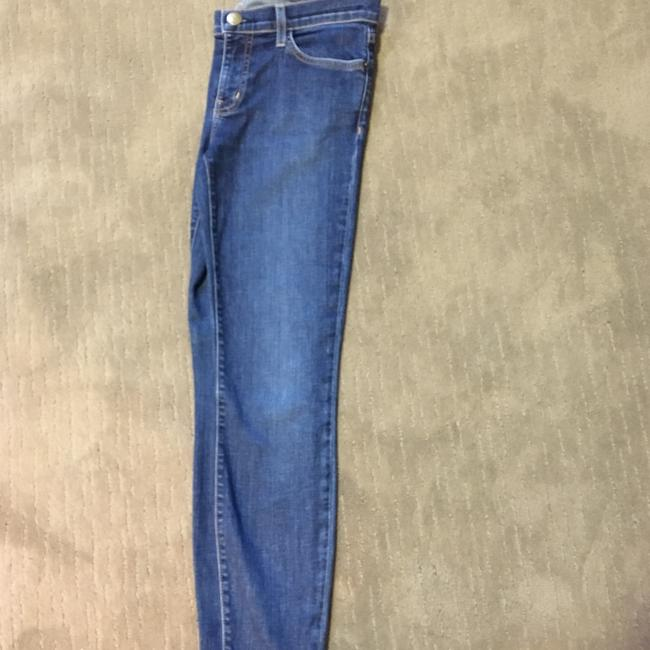 Current/Elliott Skinny Jeans-Medium Wash