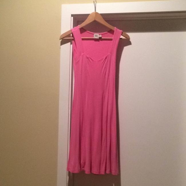 ASOS short dress Pink Skater Fit And Flare Sweetheart Summer on Tradesy