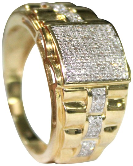 Preload https://img-static.tradesy.com/item/22472412/yellow-gold-10k-men-diamond-ring-0-2-540-540.jpg