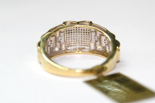 Other 10K Yellow Gold Men Diamond Ring