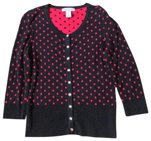 White House | Black Market Polka Dot Sweater Fall Autumn Winter Cardigan