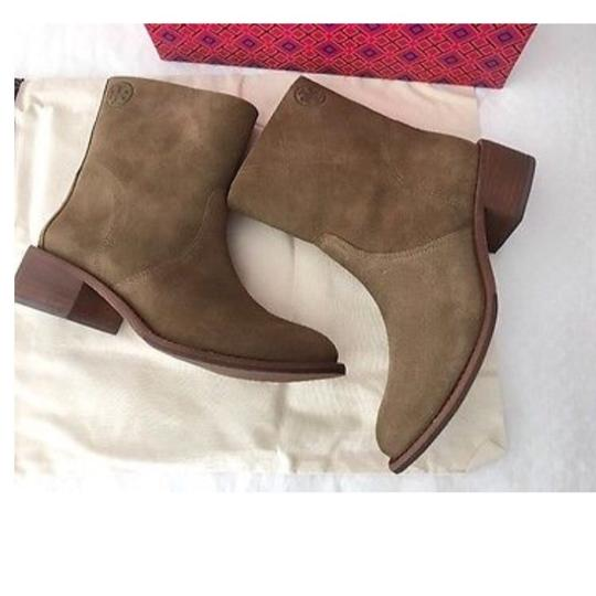 Tory Burch stone Boots