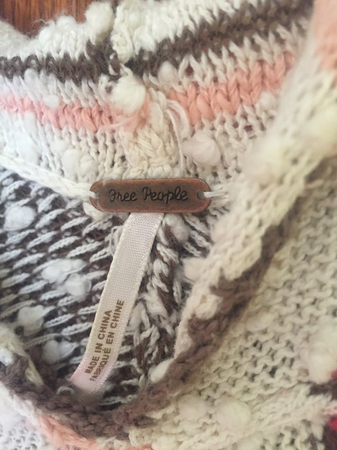 Free People Chic Warm Colors Muffler Hooded Cape