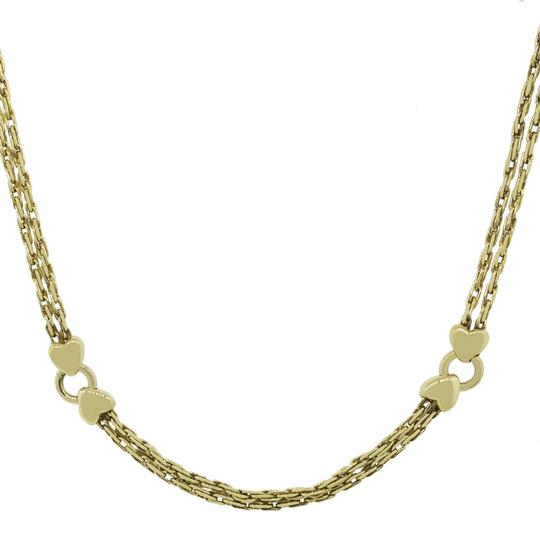 Gucci Gucci 18k Yellow Gold Heart Necklace