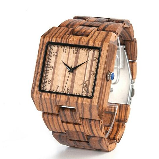 Preload https://item3.tradesy.com/images/brown-as-pictured-men-s-luxury-wooden-watch-22472507-0-1.jpg?width=440&height=440