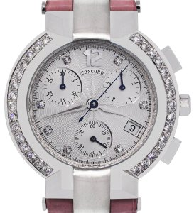 Concord Concord La Scala Chronograph Diamond Bezel Ladies Watc