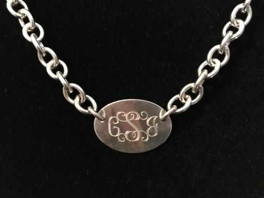 Other Sterling Silver .925 Tiffany-Style Monogram Necklace 15