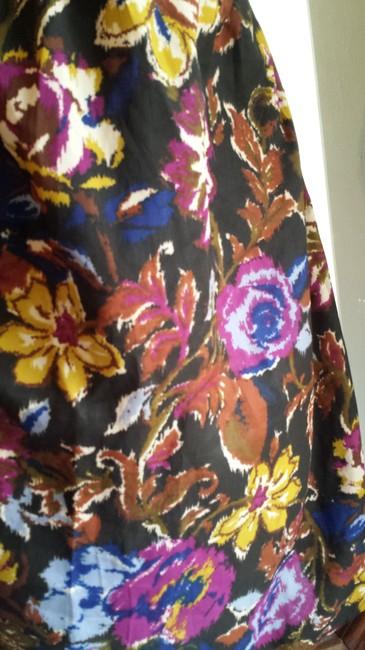 Unknown short dress multi color Polyester Floral on Tradesy