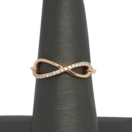 Preload https://img-static.tradesy.com/item/22472559/14k-rose-gold-natural-genuine-diamond-infinity-sign-ring-0-1-540-540.jpg