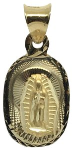 Other 14K Yellow Gold Small Guadalupe Pendant