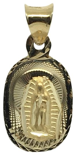 Preload https://img-static.tradesy.com/item/22472579/14k-yellow-gold-small-guadalupe-pendant-charm-0-1-540-540.jpg