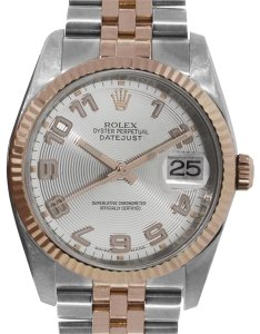 Rolex Rolex 116231 Datejust Two Tone Concentric Dial Watch