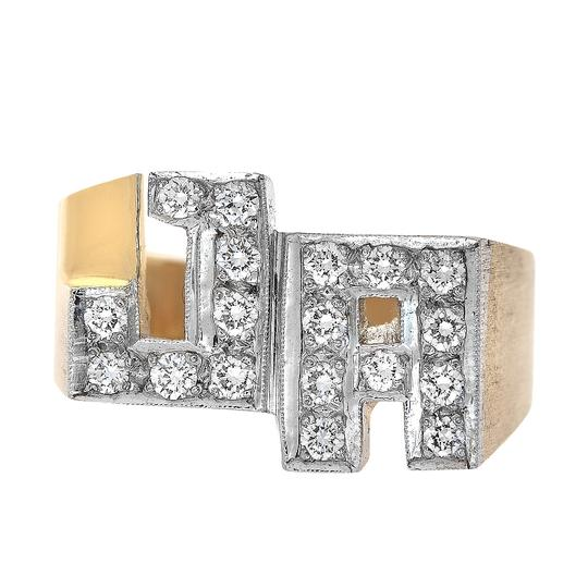 Preload https://item3.tradesy.com/images/avital-and-co-jewelry-yellow-gold-050-carat-round-cut-diamonds-initial-men-s-14k-ring-22472632-0-0.jpg?width=440&height=440