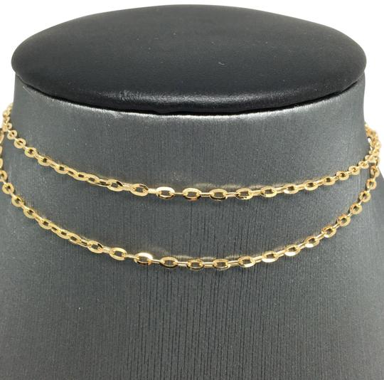 Preload https://item5.tradesy.com/images/18k-yellow-gold-cable-chain-18-inches-necklace-22472644-0-1.jpg?width=440&height=440