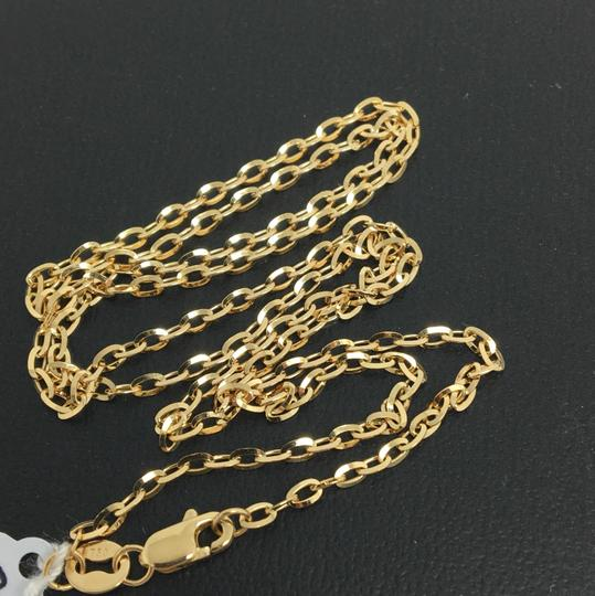 Other 18K Yellow Gold Cable Chain 18 inches