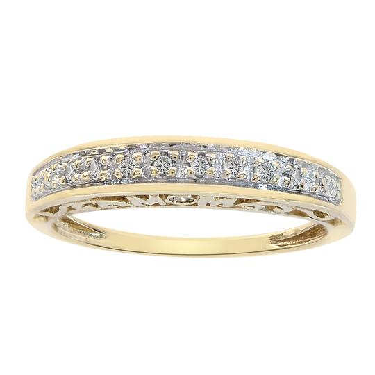 Preload https://img-static.tradesy.com/item/22472664/avital-and-co-jewelry-yellow-gold-008-carat-round-cut-diamond-mom-10k-ring-0-0-540-540.jpg