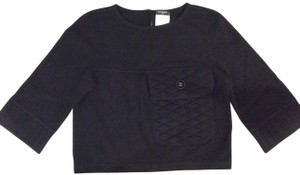 Chanel Cashmere Cropped Sweater