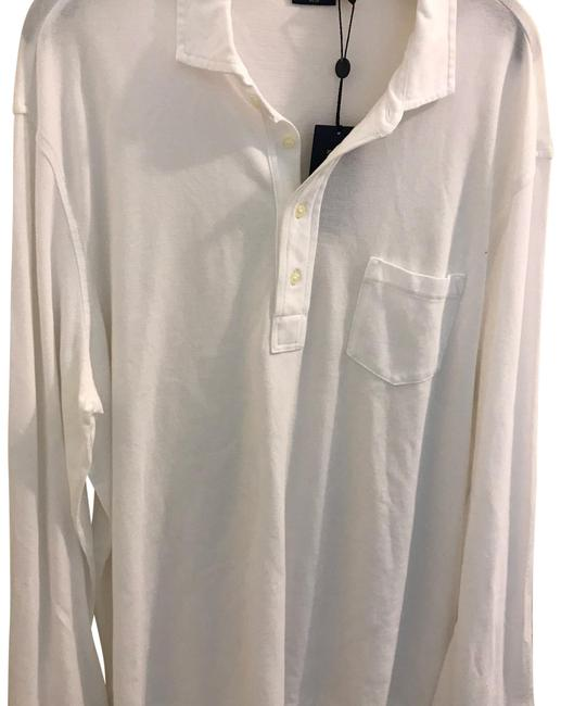 Polo Ralph Lauren White Featherweight Mesh Long Sleeve Fragrance Polo Ralph Lauren White Featherweight Mesh Long Sleeve Fragrance Image 1