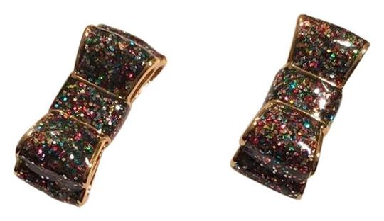 Preload https://img-static.tradesy.com/item/22472876/kate-spade-multicolorblack-glitter-bow-studs-earrings-0-1-540-540.jpg