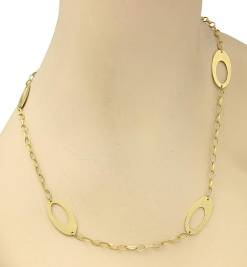 Preload https://item2.tradesy.com/images/15530-large-open-long-oval-link-14k-gold-toggle-necklace-22472901-0-1.jpg?width=440&height=440