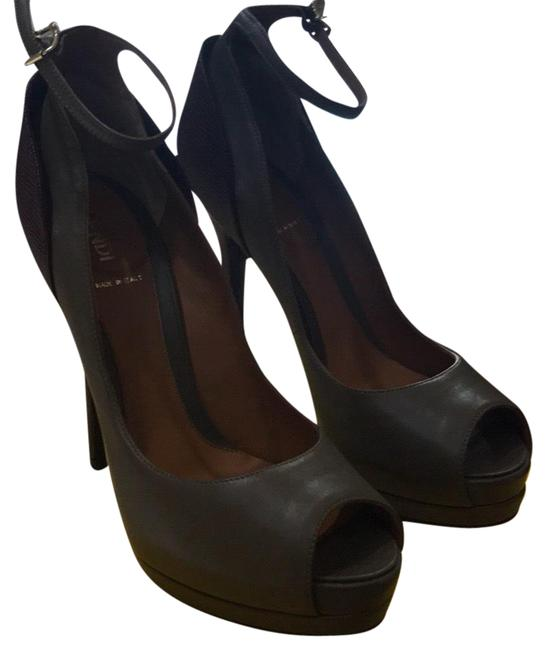 Item - Olive and Burgundy Heels Formal Shoes Size EU 39 (Approx. US 9) Regular (M, B)